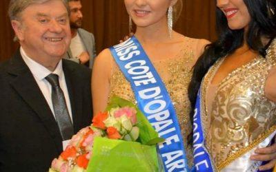 Axelle Devin Miss le Touquet sacrée Miss Cote d'Opale Artois 2019 à Lens